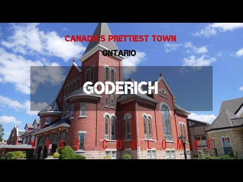 Goderich Ontario, Canada's Prettiest Town
