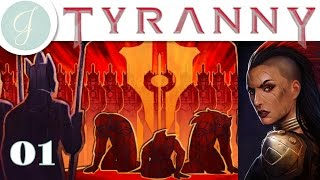 Let's Roleplay Tyranny Gameplay ▶Verse and The Edgering Ruinsl◀ Story-Rich RPG ~ Part 01