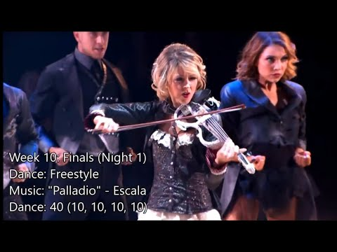 Lindsey Stirling - All Dancing With The Stars Performances