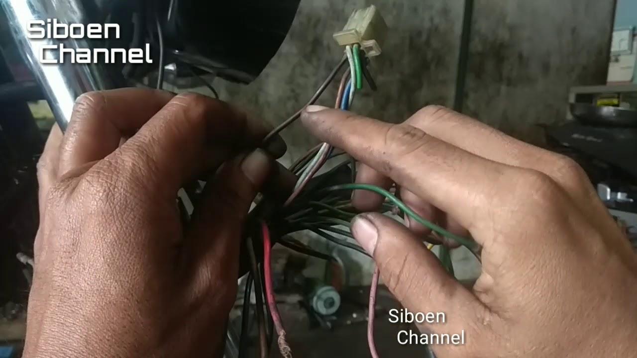Kabel Jalur Kelistrikan Rx King Siboen Tutor Youtube Jelaskan Cara Memeriksa Wiring