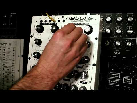 Analogue Solutions Nyborg 12 Analogue Synthesizer Demo Part 2