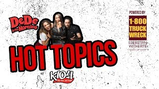 DeDe's Hot Topics - Tristian Thompson Cheats w Kylie Jenner's Best Friend Jordyn Woods