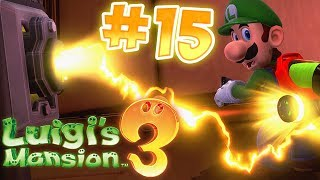 Luigi's Mansion 3 Gameplay !! Walkthrough # 15 Get the Super Suction !! ᴴᴰ