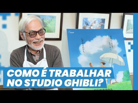 COMO É TRABALHAR NO STUDIO GHIBLI | ENTREVISTA COM TAKAYUKI AOKI