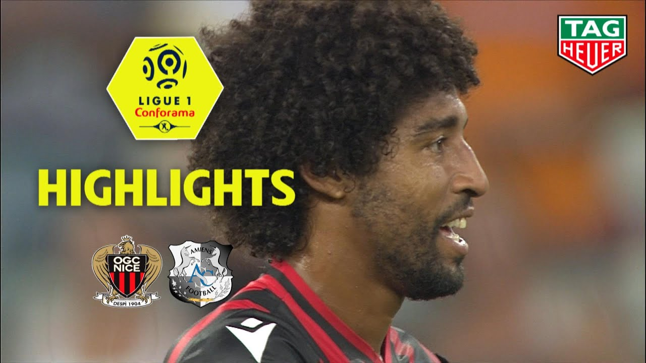 OGC Nice - Amiens SC ( 2-1 ) - Highlights - (OGCN - ASC) / 2019-20