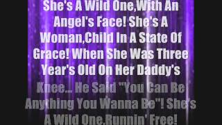 Faith Hill- Wild One (Lyrics)