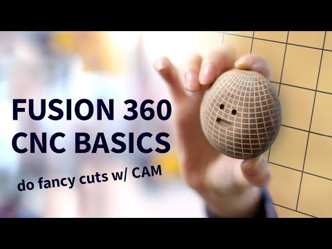 Fusion 360 CAM tutorial for CNC beginners | How to