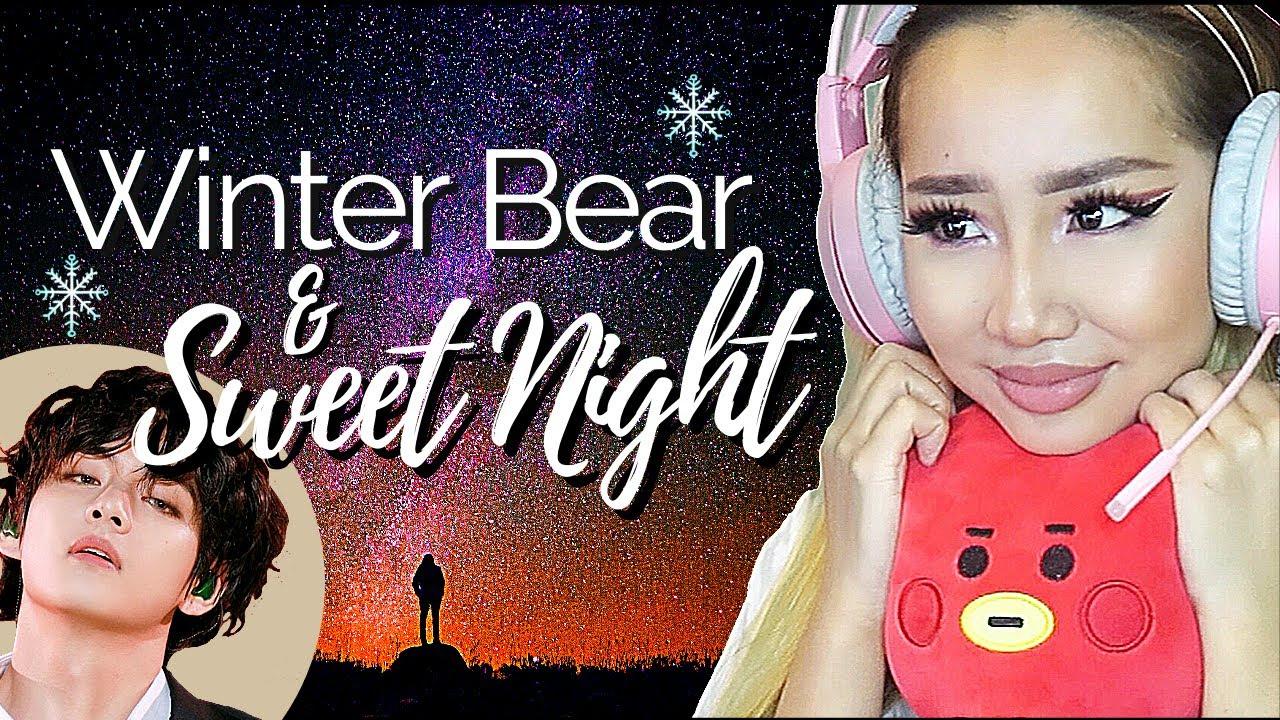 MY HEARTU! 🥺💜 BTS TAEHYUNG 'WINTER BEAR & SWEET NIGHT' ⭐️ | REACTION/REVIEW