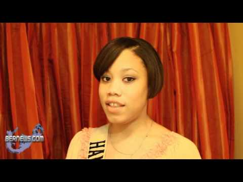 Jasmine Simmons Miss Bermuda Contestant March 30th 2011