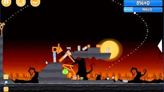 Angry Birds trick or treat 3 Estrellas instancia de parte 3-1
