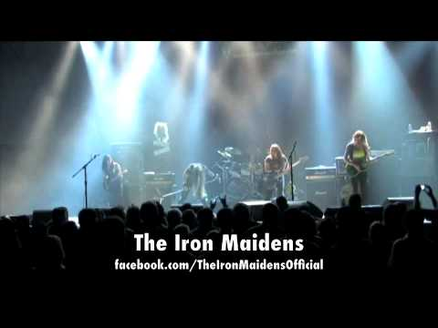 The Iron Maidens - Wasted Years LIVE - Dallas - OutlawVideo.TV