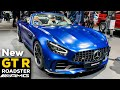 2019 MERCEDES AMG GT R ROADSTER V8 NEW Review Exterior Interior Infotainment