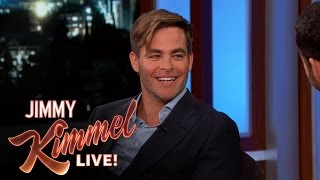 "Chris Pine Talks About the ""Wonder Woman"" Movie"