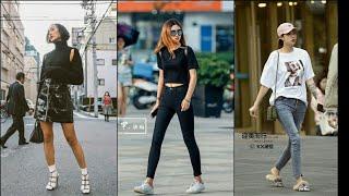 TikTok China I Thời trang đường phố của các cô gái Trung Quốc #1 I [ Douyin / Street style ]