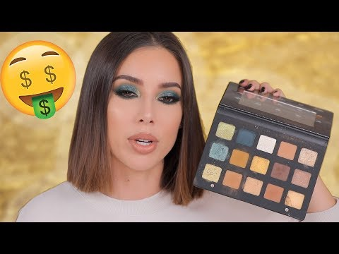 GREEN SMOKEY HOT EYES TUTORIAL!