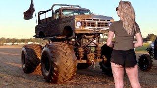 Full Throttle Mud Trucks Gone Wild Iron Horse Mud Ranch