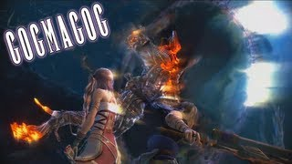 Final Fantasy XIII-2 Gogmagog PS3 720p Gameplay Recorded by AVerMedia Game Capture HD