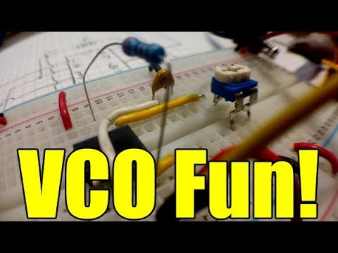 Let's Make A Voltage Controlled Oscillator (VCO)