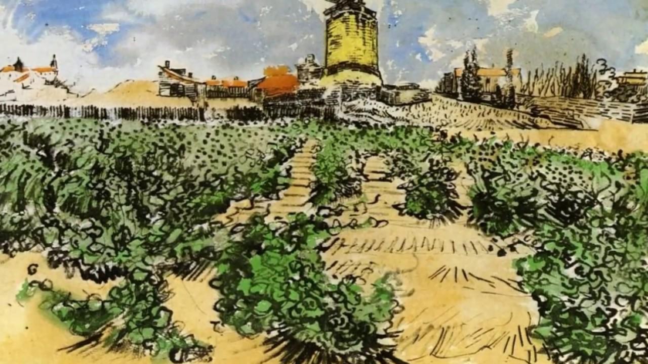 vincent van gogh s watercolor paintings youtube