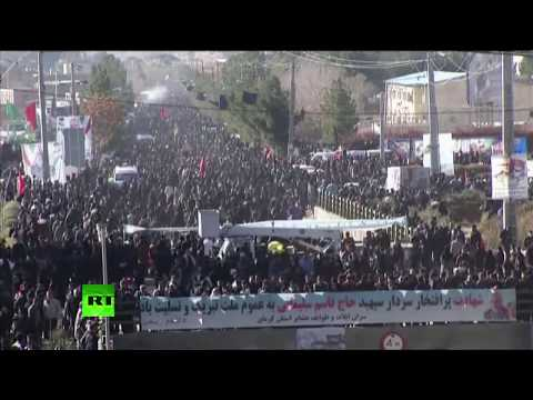 Farewell procession for general Soleimani in his hometown of Kerman