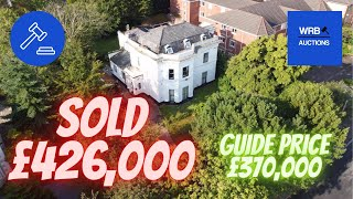 🔥 SOLD SOLD SOLD 🔥 🏡 Welcome to Brinsworth House - 33 Grosvenor Road - CH43 1TJ - WRB Auctions.