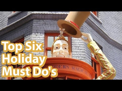 Top 6 Harry Potter Christmas Things At Universal Studios Orlando