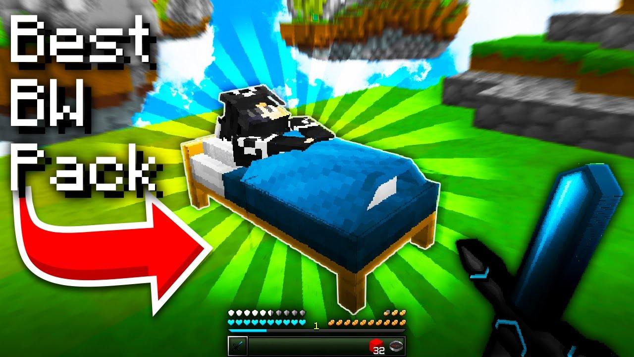 BEST Bedwars PVP Texture PACK FPS BOOST l Hypixel Bedwars - YouTube