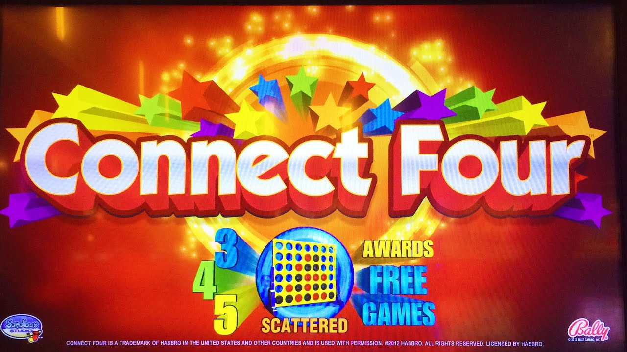 connect four slot machine