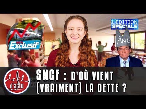 SNCF : D'OÙ VIENT (VRAIMENT) LA DETTE ?
