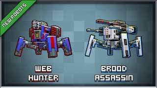 Block City Wars:Blood Assassin Vs Web Hunter