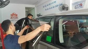 Gọi số 0986921273 dán phim Sungard xe oto, dán kính cách nhiệt sungard xe oto mới,  phim chống nóng