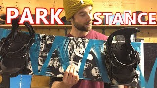 Park Stance & Snowboard Trick Training