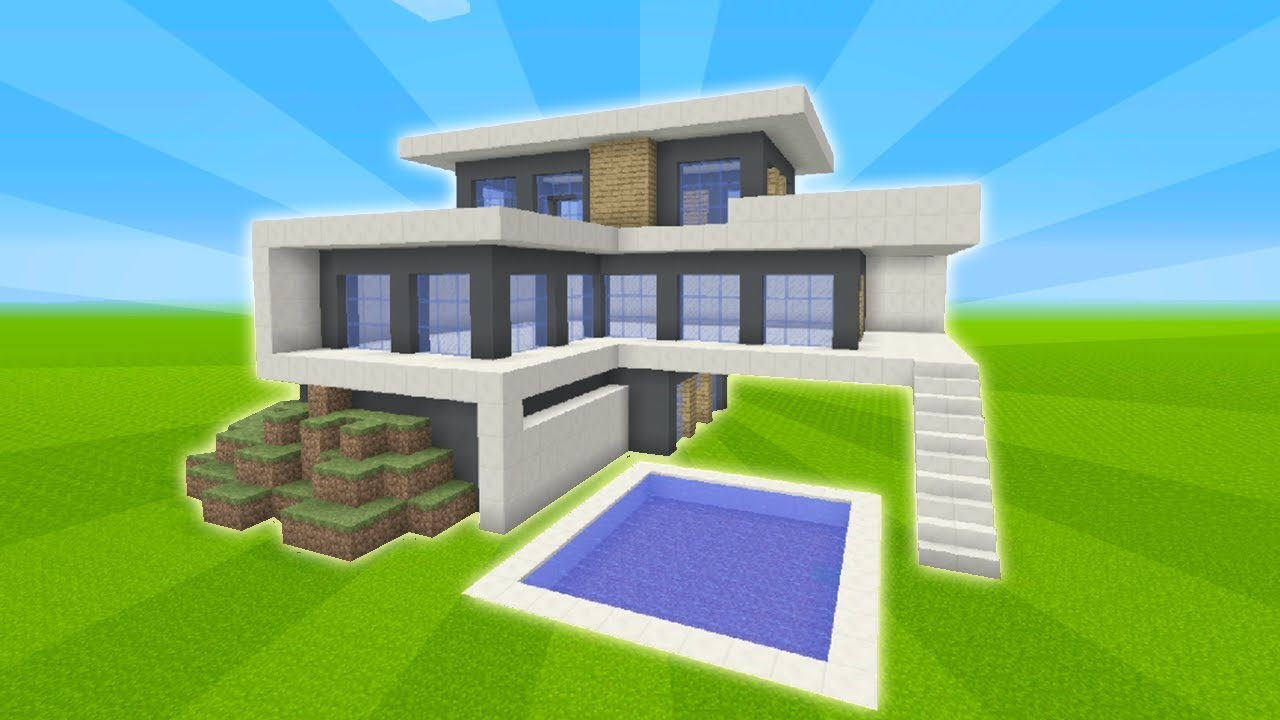How To Build A Modern Mansion In Minecraft Tsmc