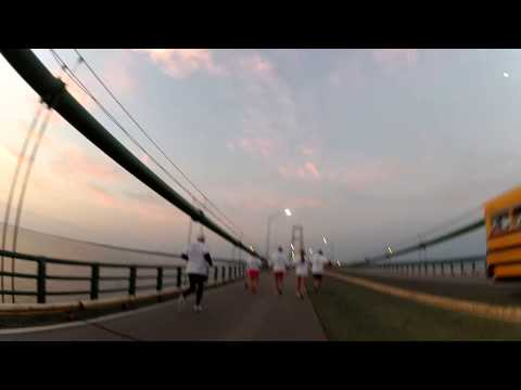 Labor Day Mackinac Bridge Run