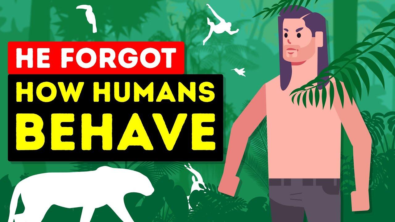 Real-Life Tarzan entschied sich für 50 Jahre im Dschungel zu leben + video