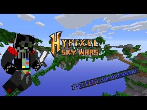Minecraft! HYPIXEL: Skywars + HELPER RANK!?