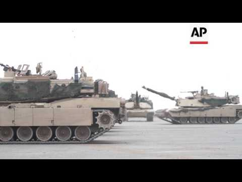Joint US-Lithuania military exercise in Rukla