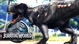 RECINTO DE CAZA DE TIRANOSAURIO REX! REXY JURASSIC WORLD 2 ARK