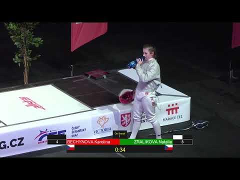Czech Championships JWS - GOLD - Natalie Zralíková v Karolína Bechyňová