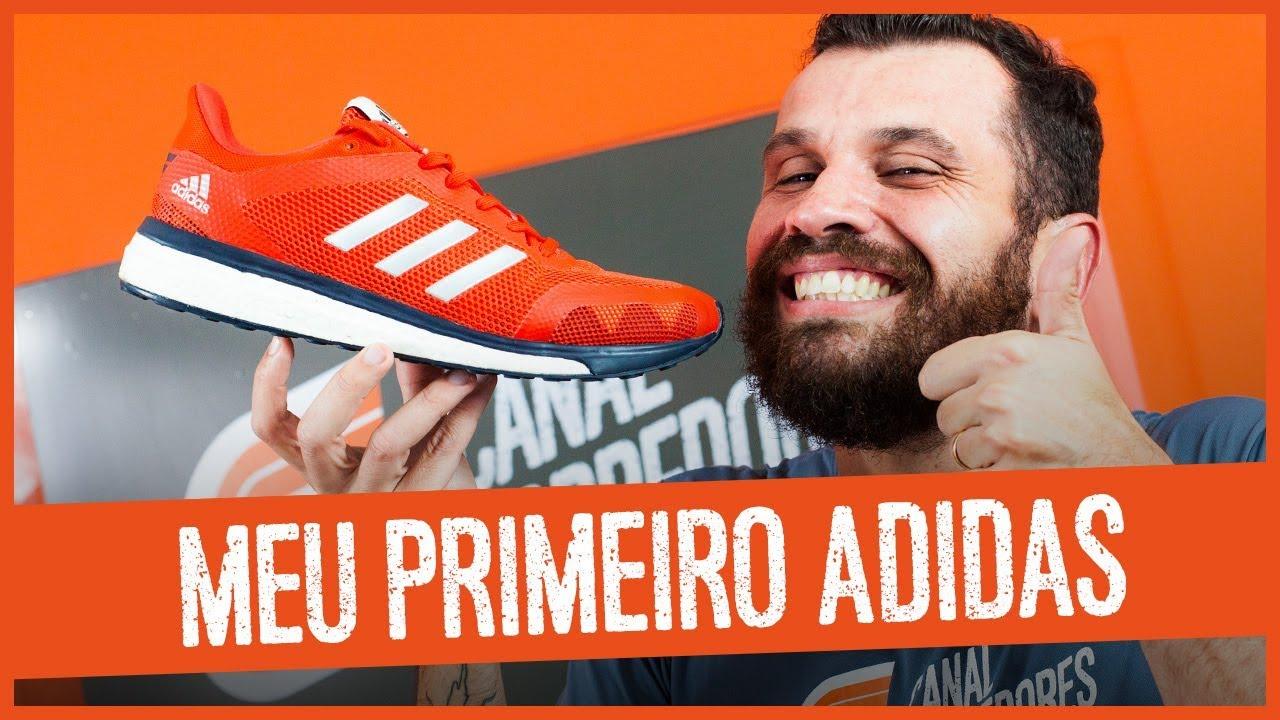 calidad real más cerca de zapatos de temperamento Review Adidas Response M - Meu primeiro Adidas - YouTube
