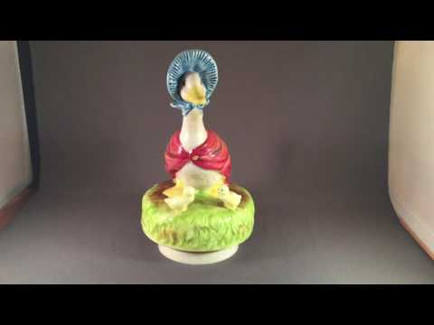 Puddle Duck music box for sale on eBay