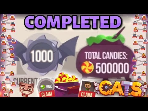 OPENING ALL REWARDS FROM HALLOWEEN QUESTS in C.A.T.S: Crash Arena Turbo Stars (Claiming)
