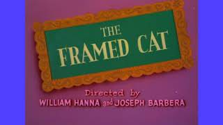 The Framed Cat (1950) first Turner print opening titles recreation