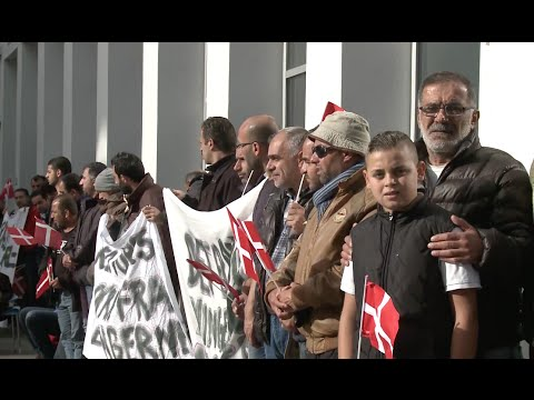 Syrian Refugees in Denmark Protest for Reunion Visas