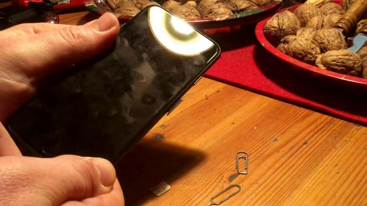 Iphone 6s Sim Karte Wechseln.Iphone 7 Sim Karte Wechseln Sim Karte Wechseln Am Apple Iphone 7 Anleitung