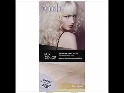 Kareway Epielle Hair Color For Women Light Blonde Pack Of 2 Youtube