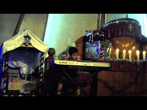 Hizkia Sirait main keyboard amazing grace