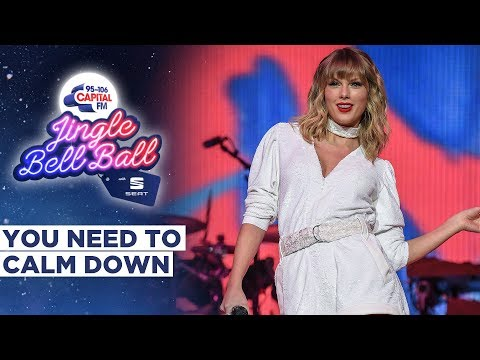 Taylor Swift - You Need to Calm Down (Live at Capital's Jingle Bell Ball 2019)   Capital