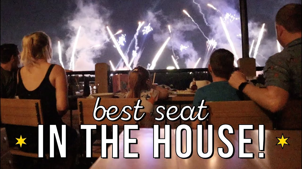 Is This Really Happening Rose Crown Illuminations Dining Package At Epcot Youtube