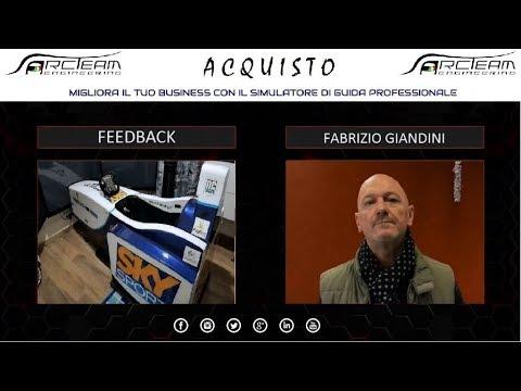 OPINIONE ACQUISTO SIMULATORE - FABRIZIO GIANDINI - LASER BOWLING SAN NICOLO'